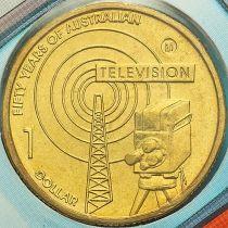 Австралия 1 доллар 2006 год. Телевидение. Мельбурн. М.