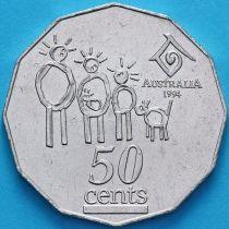 Австралия 50 центов 1994 год. Международный год семьи