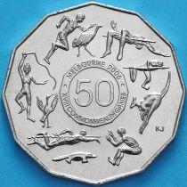 Австралия 50 центов 2005 год  XVIII Игры Содружества