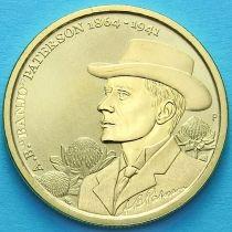 Австралия 1 доллар 2014 год. Эндрю Бартон Патерсон.