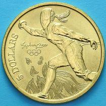 Австралия 5 долларов 2000 год. Фехтование.