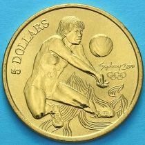 Австралия 5 долларов 2000 год. Волейбол.