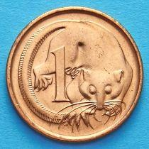 Лот 10 монет. Австралия 1 цент 1987 год. Карликовый летучий кускус.