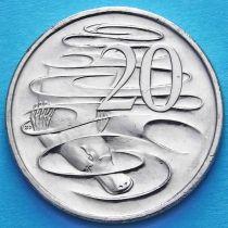 Австралия 20 центов 2016 год. Юбилейная монета.