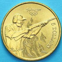 Австралия 5 долларов 2000 год. Стрельба.