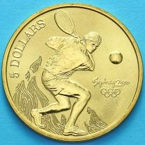 Австралия 5 долларов 2000 год.Теннис.