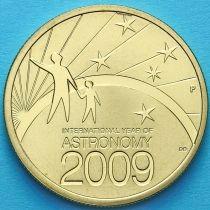 Австралия 1 доллар 2009 год. Международный год астрономии.