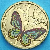 Австралия 1 доллар 2016 год. Бабочка Ричмонда.