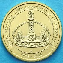 Австралия 1 доллар 2013 год. 175 лет коронации.