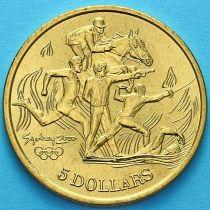 Австралия 5 долларов 2000 год. Современное пятиборье.