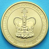 Австралия 1 доллар 2013 год. 605 лет коронации.