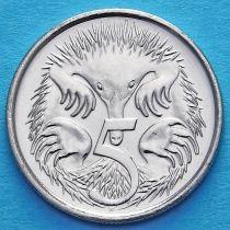 Австралия 5 центов 2016 год. Юбилейная монета