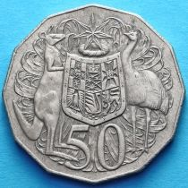 Австралия 50 центов 1969 год.