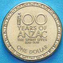 Австралия 1 доллар 2016 год. АНЗАК.