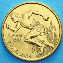 Австралия 5 долларов 2000 год. Бег.