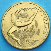 Австралия 5 долларов 2000 год. Гимнастика.