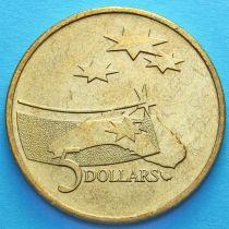 Австралия 5 долларов 1992 год. Международный год Космоса.