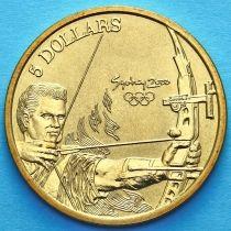 Австралия 5 долларов 2000 год. Стрельба из лука.
