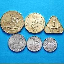 Острова Кука набор 6 монет 2015 год.