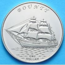 Острова Гилберта 1 доллар 2015 год. Баунти