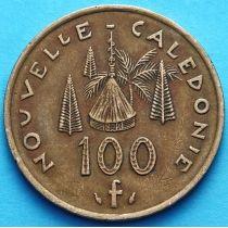 Новая Каледония 100 франков 1976-2003 год.