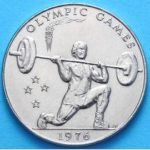 Самоа 1 тала 1976 г. Тяжелая атлетика