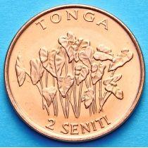 Тонга 2 сенити 2002 год. ФАО