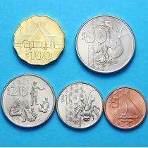 Вануату набор 5 монет 2015 год.