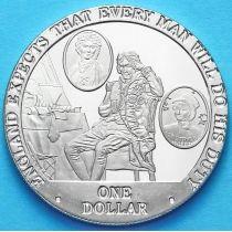 Острова Кука 1 доллар 2007 год. Семья.