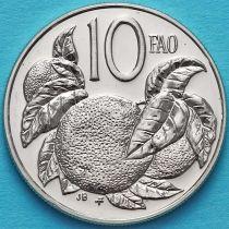 Острова Кука 10 центов 1979 год. ФАО