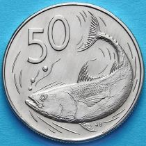 Острова Кука 50 центов 1972-1973 год. Бонито.