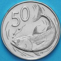 Острова Кука 50 центов 1974 год. Бонито.