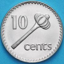 Фиджи 10 центов 1999 год.