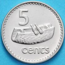 Фиджи 5 центов 2006 год.