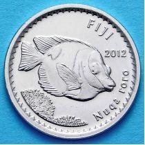 Фиджи 5 центов 2012 год.