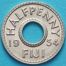 Фиджи 1/2 пенни 1954 год.