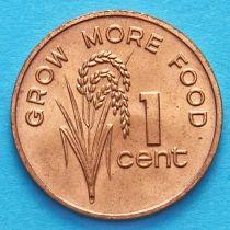 Лот 10 монет. Фиджи 1 цент 1981 год. ФАО.