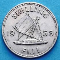 Фиджи 1 шиллинг 1958 год.