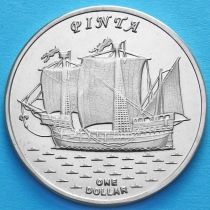 Острова Гилберта 1 доллар 2016 год. Пинта.