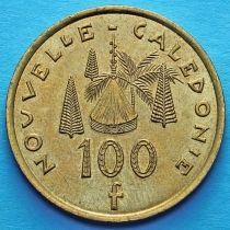 Новая Каледония 100 франков 2008-2009 год.