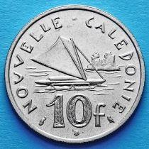 Новая Каледония 10 франков 1967-1970 год.
