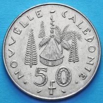 Новая Каледония 50 франков 1967 год.
