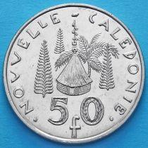 Новая Каледония 50 франков 2006 год.