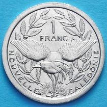 Новая Каледония 1 франк 1989 год.