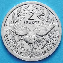 Новая Каледония 2 франка 1990-1996 год.