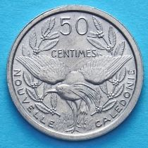 Новая Каледония 50 сантим 1949 год.