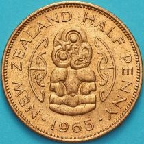 Новая Зеландия 1/2 пенни 1965 год. Амулет Хей-Тики.