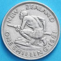 Новая Зеландия 1 шиллинг 1961 год.
