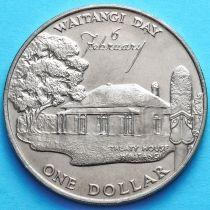 Новая Зеландия 1 Доллар 1977 год. 25 лет правления.