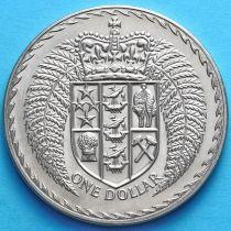 Новая Зеландия 1 Доллар 1972 год.